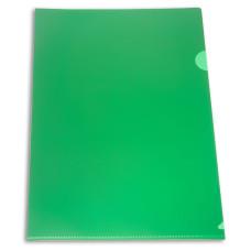 Папка-уголок Бюрократ E310N/1GR (A4, пластик, непрозрачный, толщина пластика 0,18мм, зеленый) [E310N/1GR]