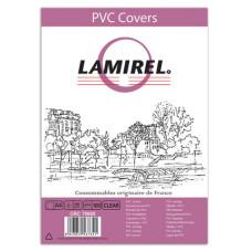 Обложка Fellowes Lamirel LA-7868001 (A4, прозрачный, 100шт, 150мкм) [LA-78680]