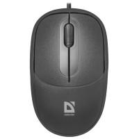 Мышь DEFENDER Datum MS-980 Black USB (кнопок 3, 1000dpi) [52980]