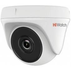 Камера видеонаблюдения Hikvision HiWatch DS-T133 (уличная, цветная, 1Мп, 2.8-2.8мм, 1280x720, 25кадр/с, 92°) [DS-T133 (2.8 MM)]