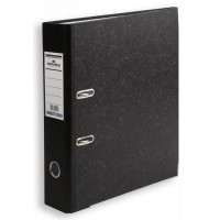 Папка-регистратор Durable 3320-00 (A4, картон, ширина корешка 50мм, черный мрамор) [3320-00]