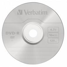 Диск DVD-R VERBATIM (4.7Гб, 16x, cake box, 10) [43523]