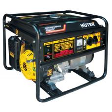 Электрогенератор HUTER DY5000L (бензиновая, пуск ручной, 4,5/4кВт, 220В) [DY5000L]