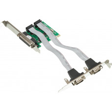 Контроллер WCH382(PCI-E, 2xCOM, 1xLPT) [ASIA PCIE WCH 2S1P LP]