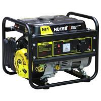 Электрогенератор Huter HT1000L (бензиновая, пуск ручной, 1,1/1кВт, 220В, авт.работа 4ч) [HT1000L]