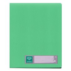 Папка Бюрократ Crystal CR20GRN (A4, пластик, толщина пластика 0,5мм, зеленый) [CR20GRN]