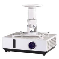 Кронштейн для проектора HAMA H-118610 (потолочный, поворот и наклон, наклон -25/+25, поворот -360/+360, 14кг) [00118610]
