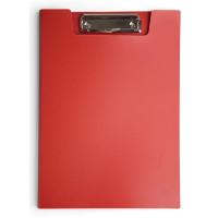 Папка клип-борд Бюрократ PD602RED (A4, пластик, толщина пластика 1,2мм, красный) [PD602RED]