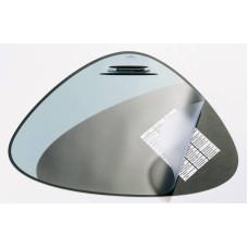 Настольное покрытие Durable 720801 (69х51 см, черный, эргономичная форма, нескользящая основа, прозрачный верхний слой) [720801]