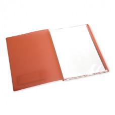 Папка Бюрократ Crystal CR20 (A4, пластик, толщина пластика 0,5мм, ассорти) [CR20]