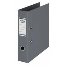 Папка-регистратор Durable 3110-10 (A4, ПВХ, ширина корешка 70мм, серый) [3110-10]