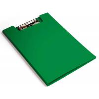 Папка клип-борд Бюрократ PD602GRN (A4, пластик, толщина пластика 1,2мм, зеленый) [PD602GRN]