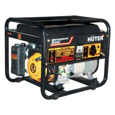 Электрогенератор HUTER DY2500L (бензиновая, пуск ручной, 2,2/2кВт, 220В) [DY2500L]