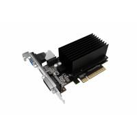 Видеокарта GeForce GT 710 954МГц 2Гб PALIT (PCI-E 8x 2.0, DDR3, 64бит, 1xDVI, 1xHDMI) [NEAT7100HD46-2080H]