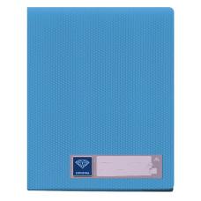 Папка Бюрократ Crystal CR20BLUE (A4, пластик, толщина пластика 0,5мм, голубой) [CR20BLUE]