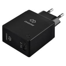 Зарядное устройство DIGMA DGWC-1U-2.1A-BK (2,1А)