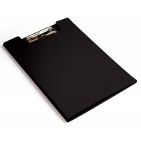 Папка клип-борд Бюрократ -PD602BLCK (A4, пластик, толщина пластика 1,2мм, черный) [PD602BLCK]