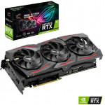 Видеокарта GeForce RTX 2070 SUPER 1605МГц 8Гб ASUS Strix Gaming (GDDR6, 256бит, 1xHDMI, 3xDP)