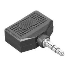 Адаптер аудио HAMA (Jack 3.5 (m), 2xJack 3.5 (f)) [00043353]