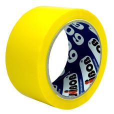 Клейкая лента UNIBOB (упаковочная, 48мм, 66м, 45мкм, желтый) [41153]