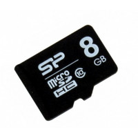 Карта памяти microSDHC 8Гб Silicon Power (Class 10) [SP008GBSTH010V10]