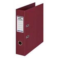 Папка-регистратор Durable 3110-31 (A4, ПВХ, ширина корешка 70мм, бордовый) [3110-31]