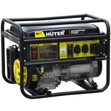 Электрогенератор HUTER DY9500L (бензиновая, пуск ручной, 8/7,5кВт, 220В) [64/1/39]