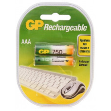 Аккумулятор GP Ni-Mh 750 мА·ч Rechargeable 750 Series AAA