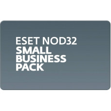 Базовая лицензия (карта) ESET Small Business Pack newsale for 10 user [NOD32-SBP-NS(CARD)-1-10]