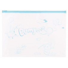 Папка на молнии ZIP Deli Bumpees EZ70102 (A4, ПВХ, толщина пластика 0,18мм, молния ассорти) [EZ70102]