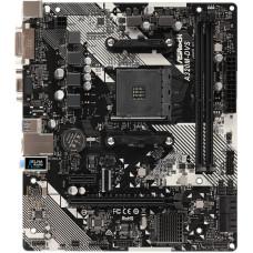 Материнская плата ASRock A320M-DVS R4.0 (AMD A320, 2xDDR4 DIMM, microATX, RAID SATA: 0,1,10) [A320M-DVS R4.0]