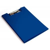 Папка клип-борд Бюрократ PD602BLU (A4, пластик, толщина пластика 1,2мм, синий) [PD602BLU]