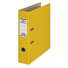 Папка-регистратор Durable 3210-04 (A4, бумвинил, ширина корешка 70мм, желтый) [3210-04]