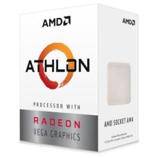 Процессор AMD Athlon 220GE Raven Ridge (3400MHz, SocketAM4, L3 4Mb)
