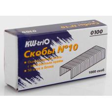 Скобы для степлера Kw-Trio 0100 (тип N10, 1000шт) [0100]