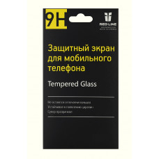 Защитное стекло для экрана Redline (Apple iPhone 5/5s/5c) [УТ000004780]