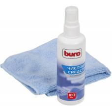 Чистящий набор (салфетки + гель) BURO BU-S/MF [BU-S/MF]