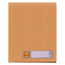 Папка Бюрократ Crystal -CR20OR (A4, пластик, толщина пластика 0,5мм, оранжевый) [CR20OR]