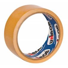 Клейкая лента UNIBOB (упаковочная, 50мм, 25м, двусторонняя) [41147]