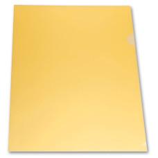 Папка-уголок Бюрократ E310/1YEL (A4, пластик, толщина пластика 0,18мм, желтый) [E310/1YEL]