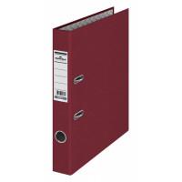 Папка-регистратор Durable 3220-31 (A4, бумвинил, ширина корешка 50мм, бордовый) [3220-31]