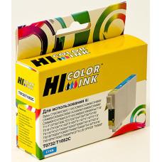 Чернильный картридж Hi-Black HB-T0732 (голубой; Stylus C79, C110, T40W, TX200, 400, TX600FW) [153023710]