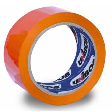 Клейкая лента UNIBOB (упаковочная, 48мм, 66м, 45мкм, оранжевый) [41156]