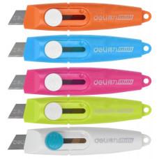 Нож канцелярский Deli E2020 (сталь) [E2020]