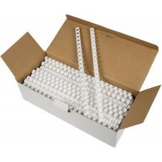 Пружина пластиковая Fellowes FS-53462 (12мм, A4, белый, 100шт, круглая) [FS-53462]