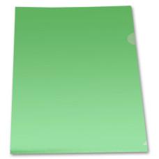 Папка-уголок Бюрократ -E310/1GR (A4, пластик, толщина пластика 0,18мм, зеленый) [E310/1GR]