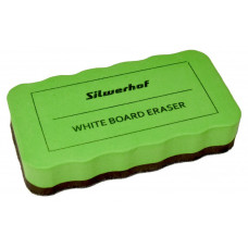 Стиратель Silwerhof 659004-02 (10.7x5.7x2см, фетр, для досок, зеленый) [659004-02]
