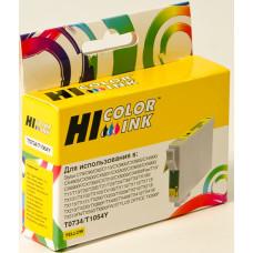 Чернильный картридж Hi-Black HB-T0734 (желтый; Stylus C79, C110, T40W, TX200, 400, TX600FW) [153023910]