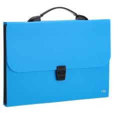 Папка-портфель Deli Rio EB40302 (A4, отделений 13, полипропилен, толщина пластика 0,6мм, ассорти) [EB40302]