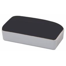 Стиратель Deli E7810 (11х5х4см, ткань/пластик, для досок, серый) [E7810]
